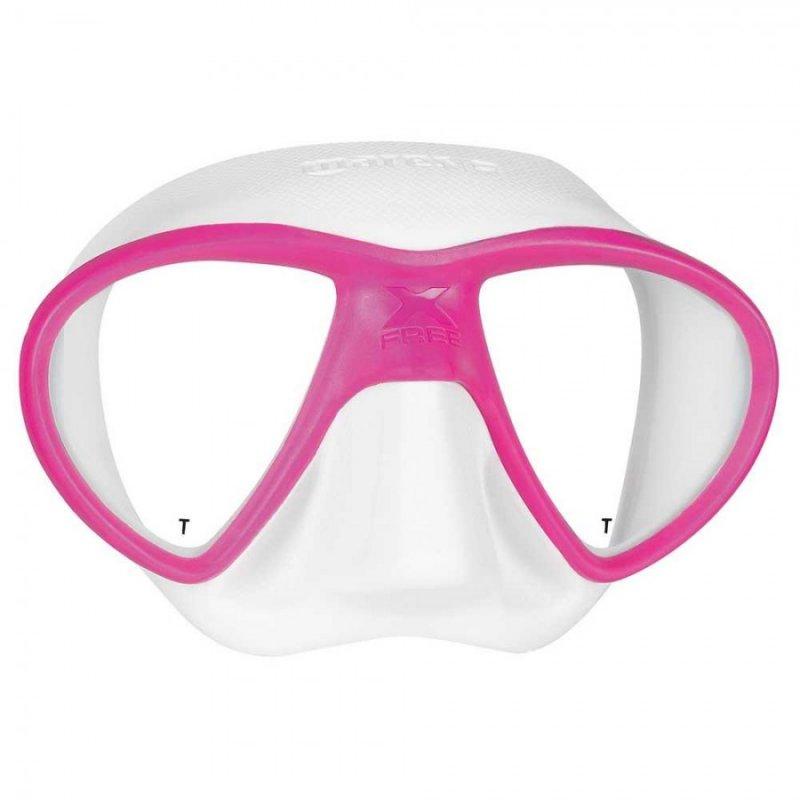 Μάσκα Θαλάσσης Mares X-Free Λευκό Ρόζ