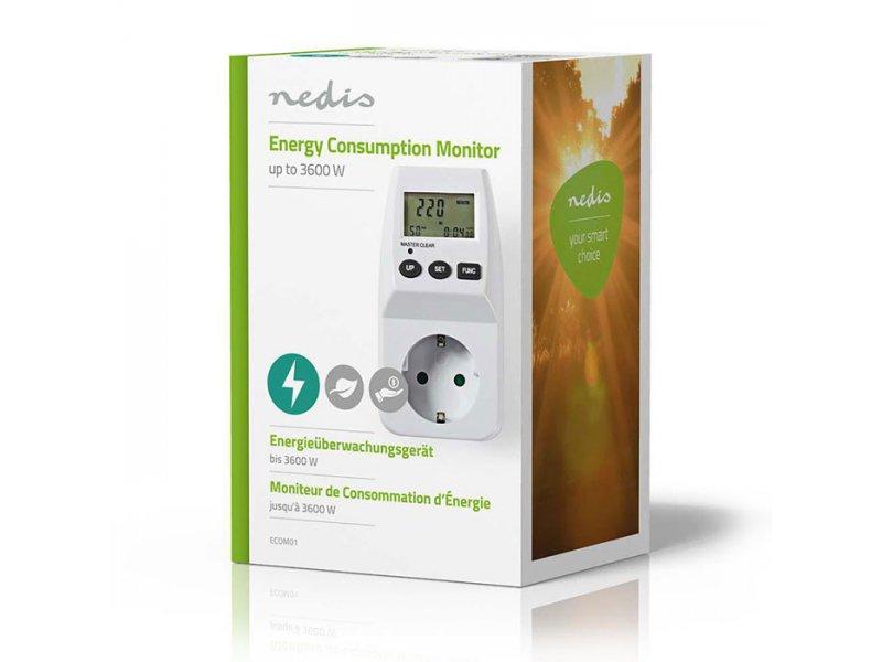 Μετρητής κατανάλωσης ενέργειας, για χρήση σε εσωτερικό χώρο.