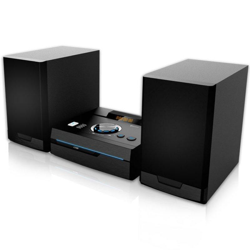 Mini Hi-Fi με CD player, FM ράδιο, σύνδεση Bluetooth και αναπαραγωγή από USB stick, 50W.