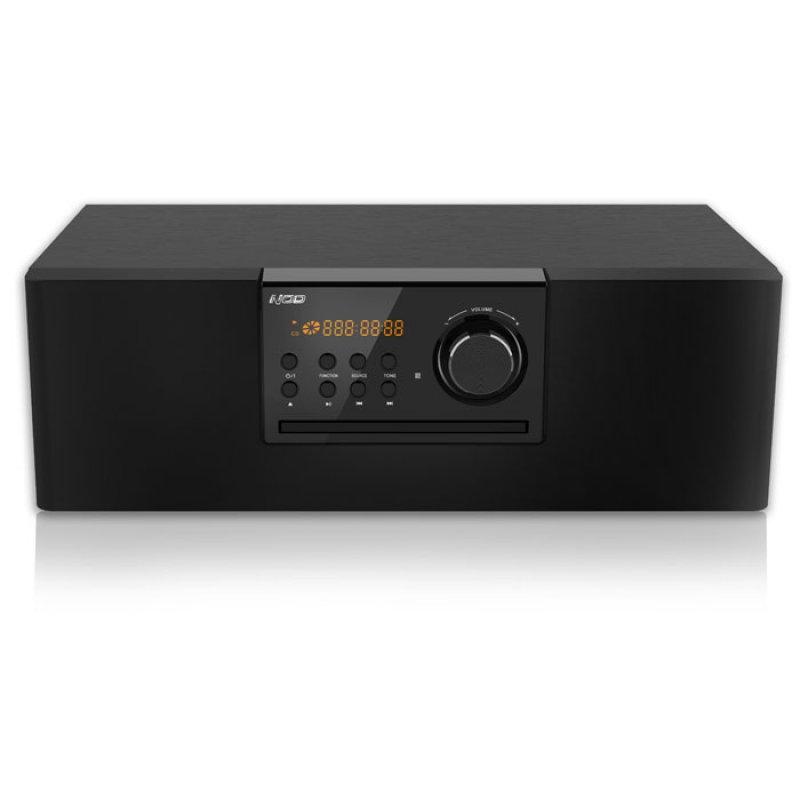 Mini Hi-Fi με CD player, FM ράδιο, σύνδεση Bluetooth και αναπαραγωγή από USB stick, 30W.