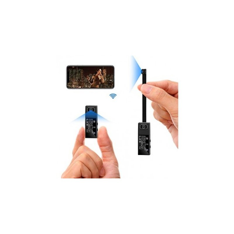 Μini Ιp ασύρματη κρυφή κάμερα Micro module sd dvr Spy cam