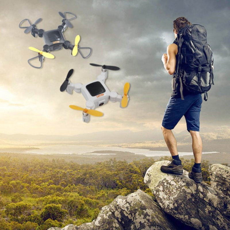 Mini rc drone τσέπης wifi camera quadcopter hc 636w
