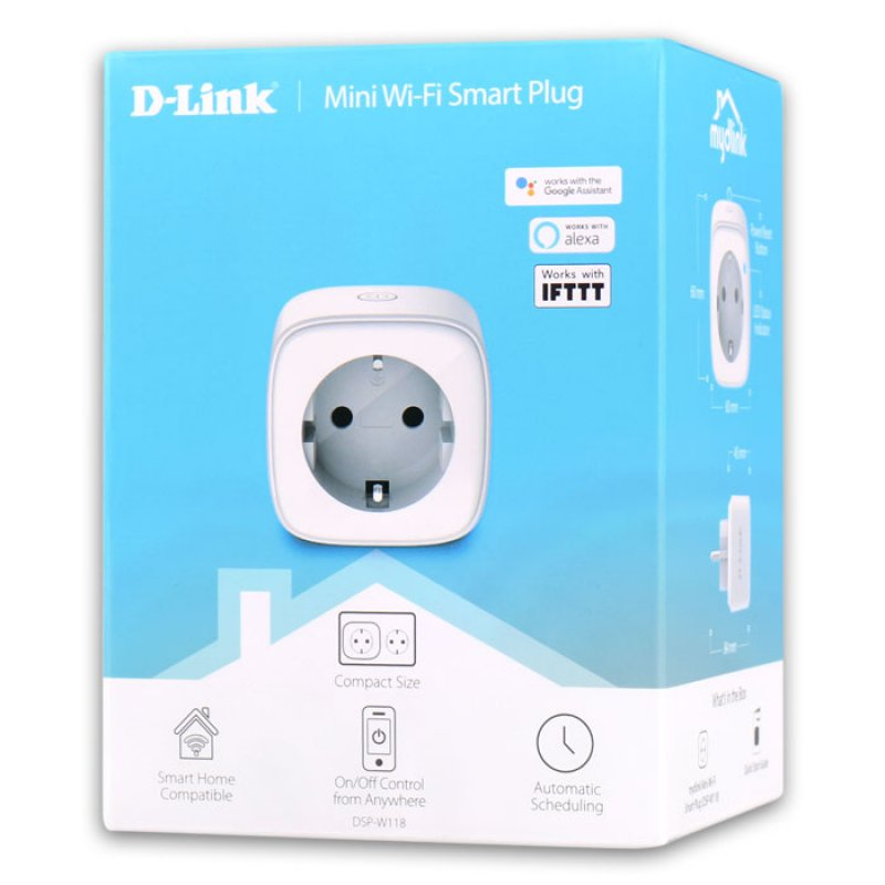 Mini Wi-Fi Smart Plug.