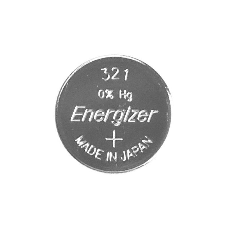 Μπαταρία ρολογιών Energizer 321 σε συσκευασία 1 μπαταρίας.