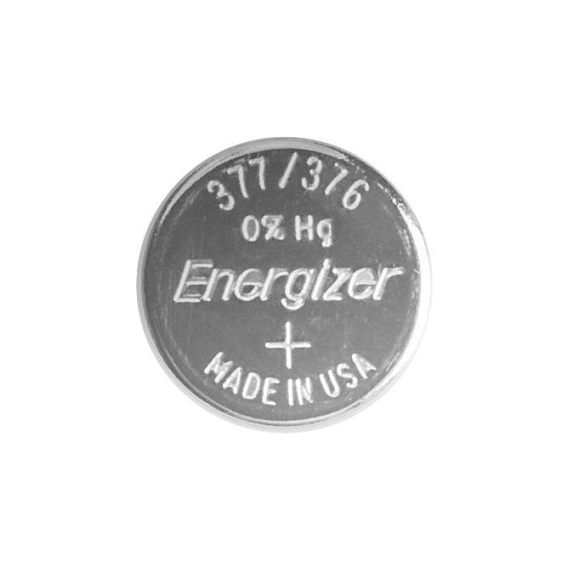 Μπαταρία ρολογιών Energizer 377-376 σε συσκευασία 1 μπαταρίας.