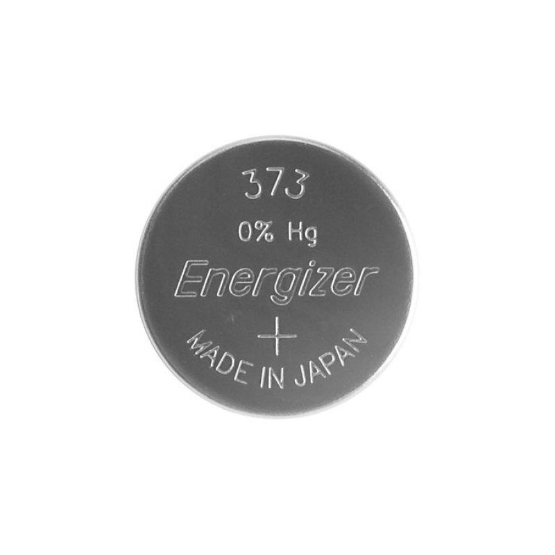 Μπαταρία ρολογιών Energizer 373 σε συσκευασία 1 μπαταρίας.