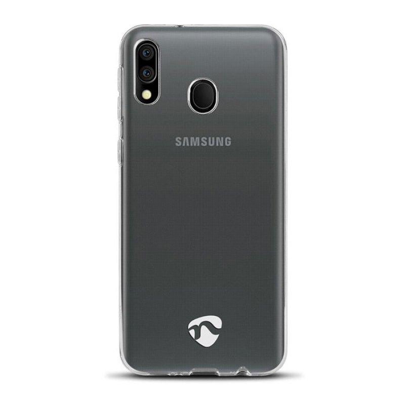 Διάφανη Θήκη Σιλικόνης για το Samsung Galaxy M20  Nedis Sjc10023Tp