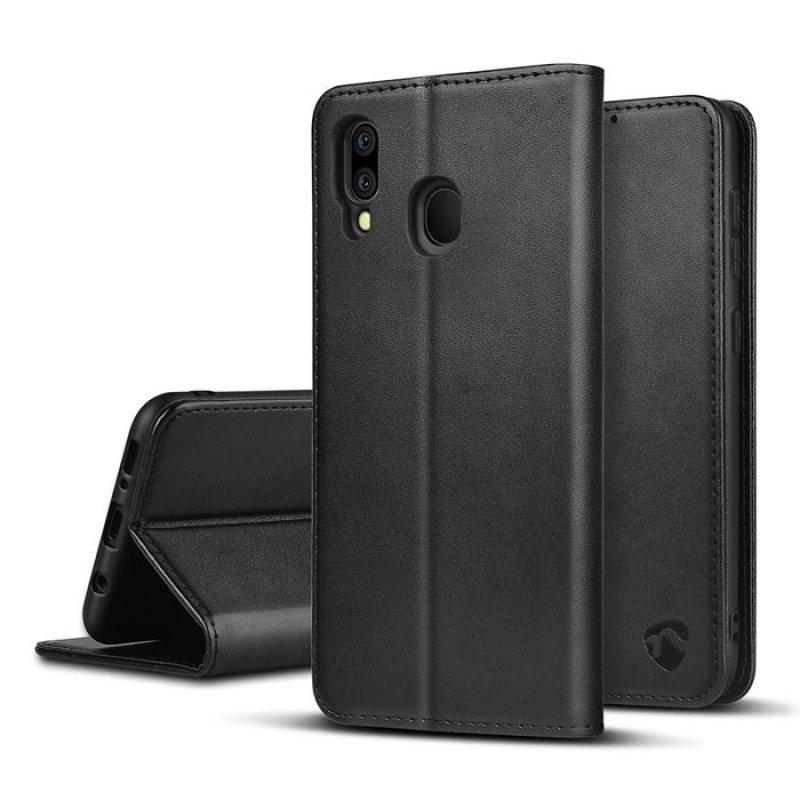Θήκη Wallet Book για το Samsung Galaxy M20 Nedis Swb10023Bk