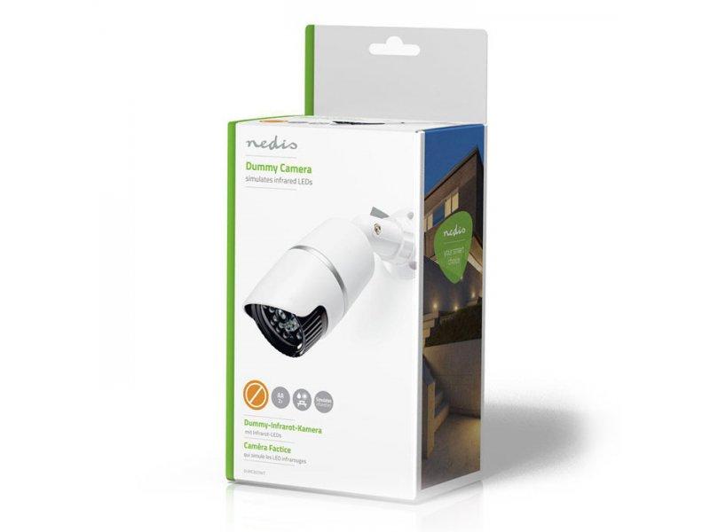 Ομοίωμα κάμερας Security για εξωτερικό χώρο, με IR LED.