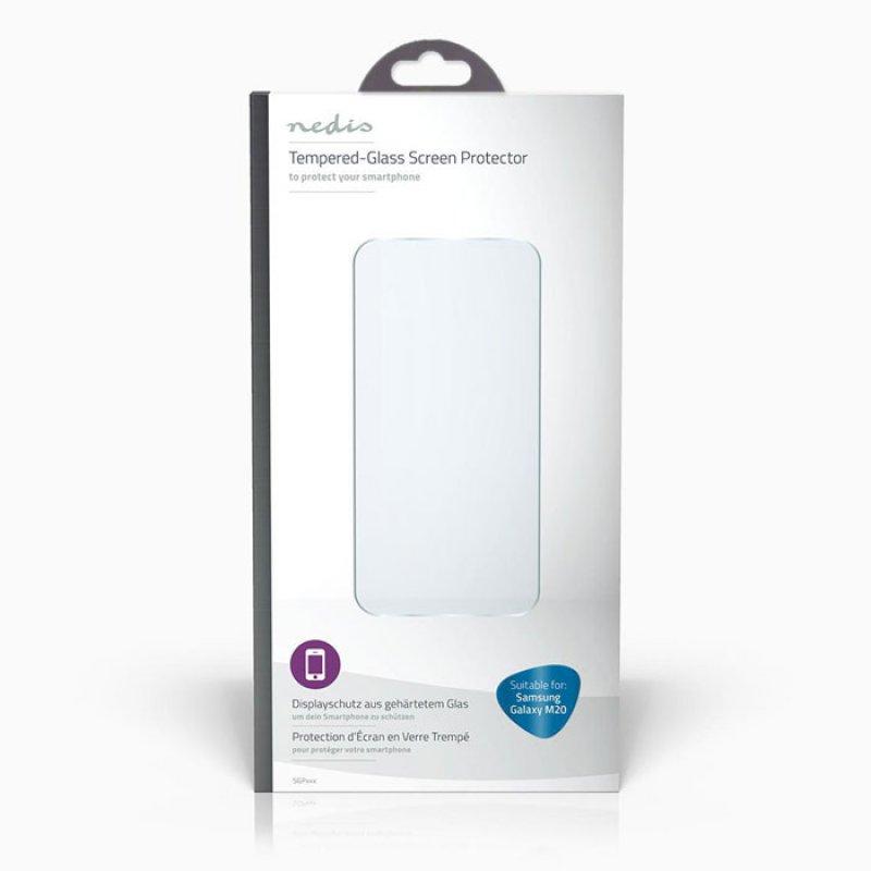 Προστατευτικό γυαλί οθόνης για το Samsung Galaxy M20 Nedis Sgp10023Tp