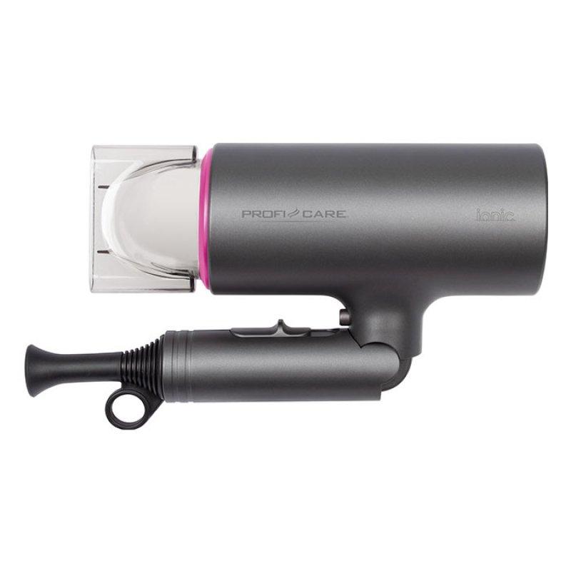 Σεσουάρ Μαλλιών 1600W, Με Αναδιπλούμενη Λαβή, Σε Γκρι/Ροζ Χρώμα.