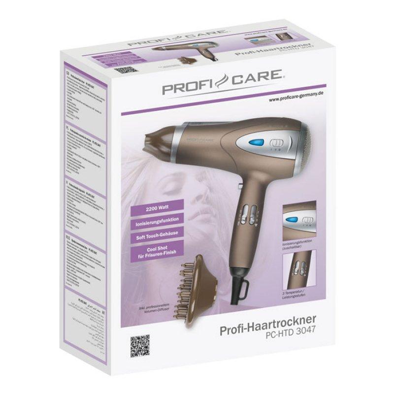 Σεσουάρ Μαλλιών Profi Care 2200w Με Λειτουργία Ιονισμού Pc-Htd 3047