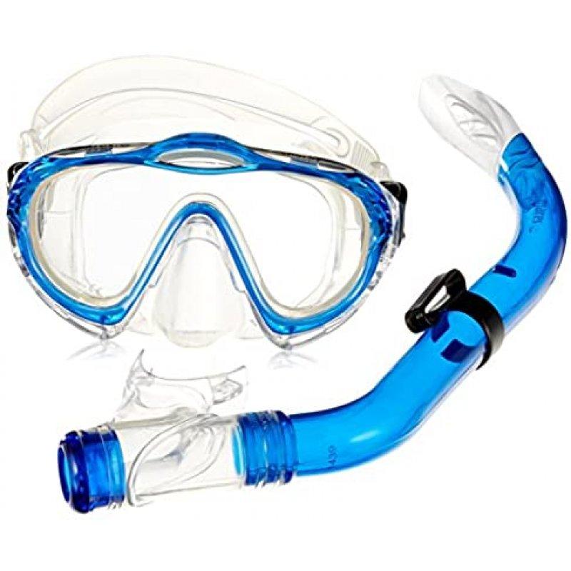 Σέτ Μάσκα Και Αναπνευστήρας Mares Παιδικό Sharky Μπλέ