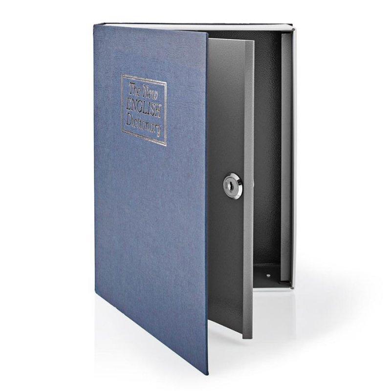 Βιβλίο-Χρηματοκιβώτιο Ασφαλείας 2.8L, Με Κλειδαριά.