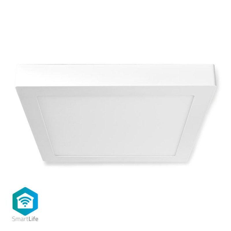 Wi-Fi Έξυπνο Φωτιστικό Οροφής LED, Διαστάσεων 30 x 30 cm, 18W, 1200lm.