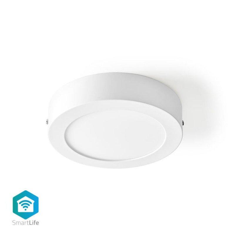 Wi-Fi Έξυπνο Φωτιστικό Οροφής LED, Διαμέτρου 17cm, 12W, 800lm
