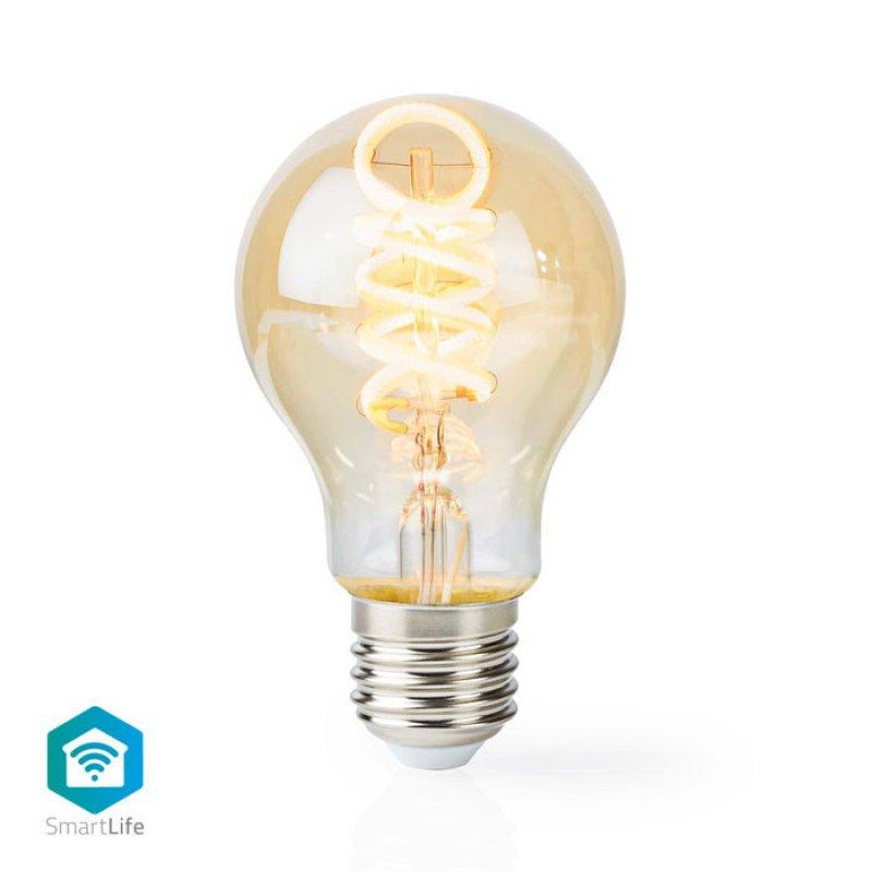 Wi-Fi Έξυπνη Λάμπα Filament Retro LED, E27, A60, 5.5W, 350lm