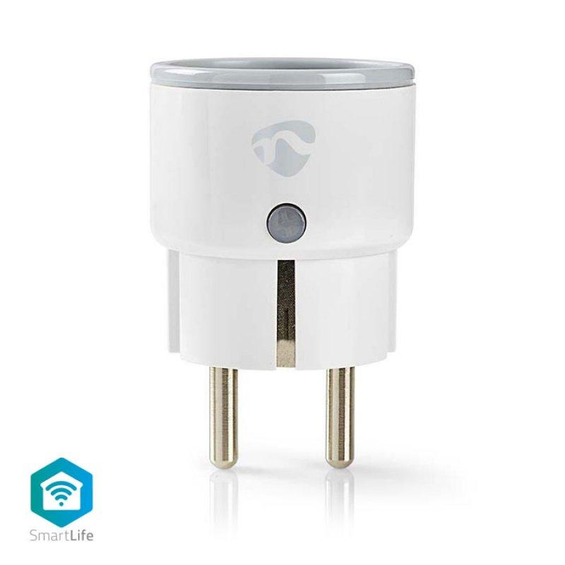 Wi-Fi Smart Plug, 10A, Με Μετρητή Κατανάλωσης Ενέργειας.