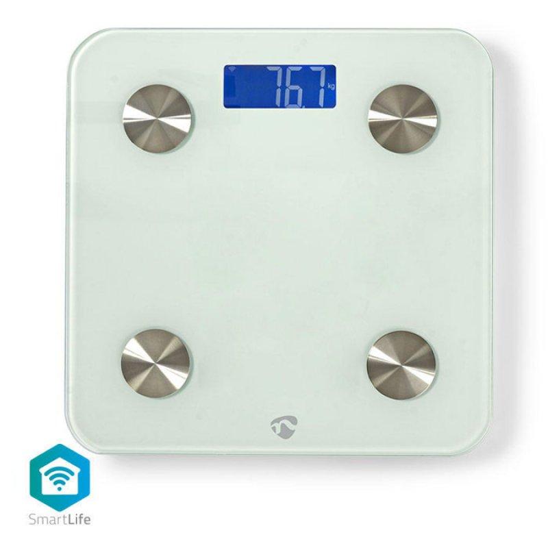 Wifi Smart Ηλεκτρονική Ζυγαριά Μπάνιου, Με Δυνατότητα Πολλαπλών Αναλύσεων.
