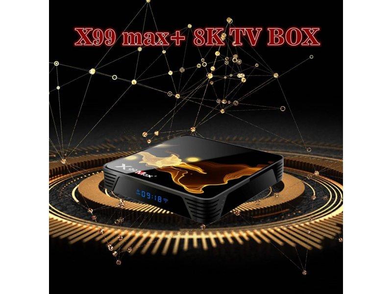 Tv Box X99 MAX Plus Android 9.0 Netflix Bluetooth 4GB Ram 32 Rom 2,4 GHz-5GHz