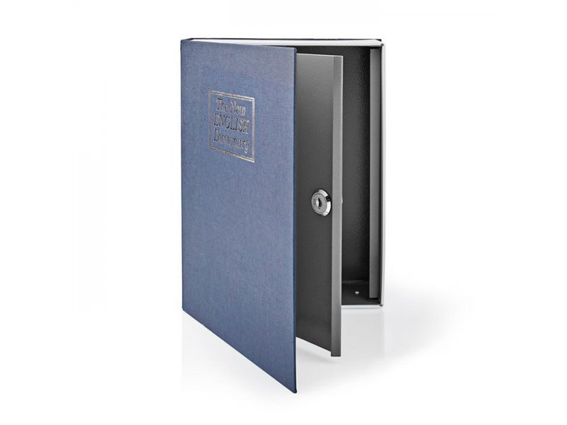 Βιβλίο-Χρηματοκιβώτιο Ασφαλείας 1.6L, Με Κλειδαριά